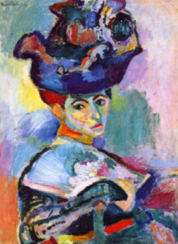Matisse - donna con cappello