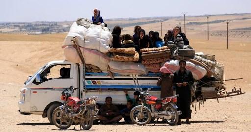 Fuga da Raqqa