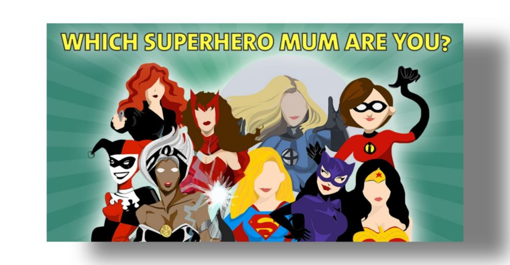 Candice Brathwaite: SUPERHERO MUMS!