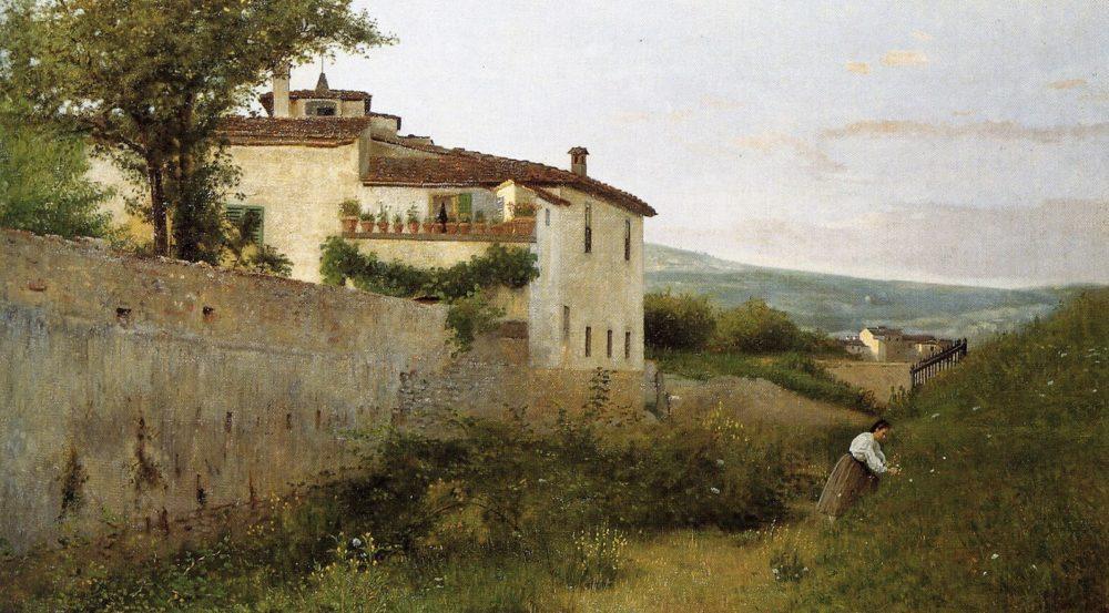 """Silvestro Lega – il """"serio"""" esponente dei Macchiaioli"""