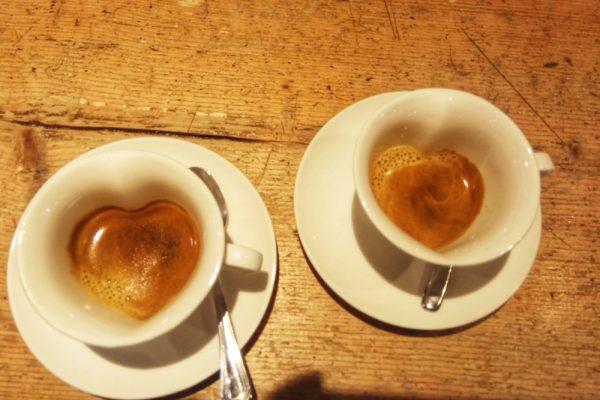 Il piacere di bere un caffè
