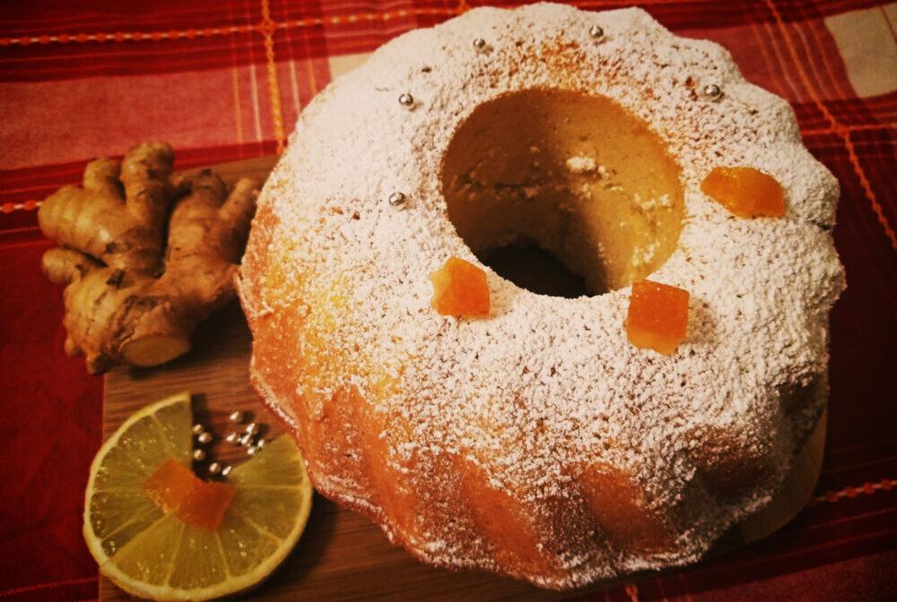 From Calabria with love: torta al bergamotto, zenzero e vaniglia