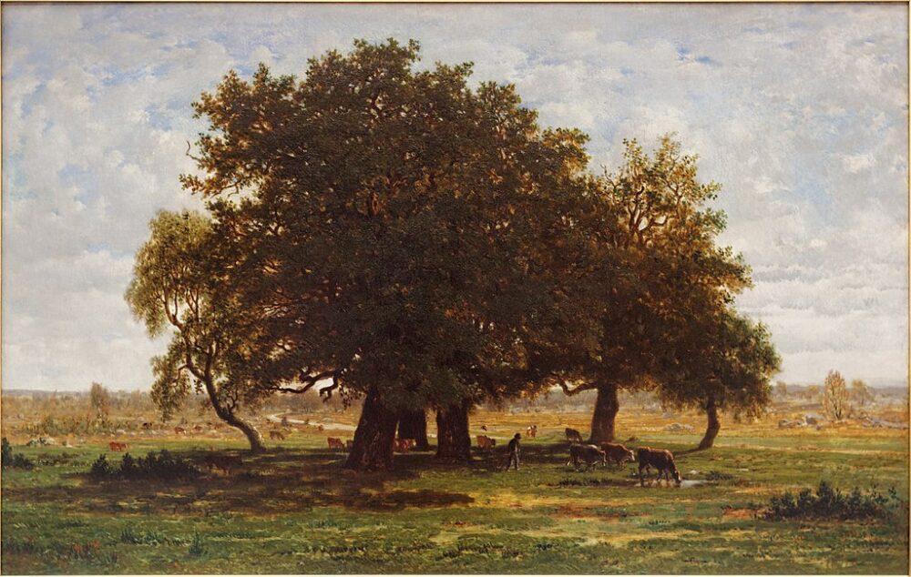 Scuola di Barbizon – gli artisti della foresta di Fontainebleau