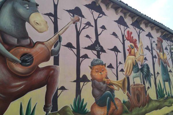 """""""Le città dei murales"""":  Le fiabe di Sant'Angelo di Roccalvecce"""