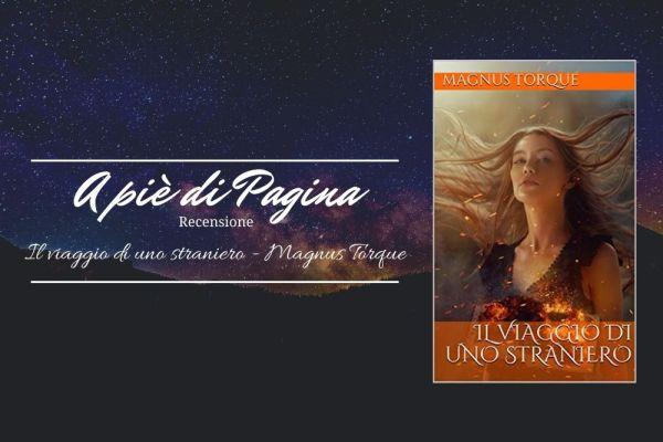 """Recensione """"Il viaggio di uno straniero"""", Magnus Torque"""