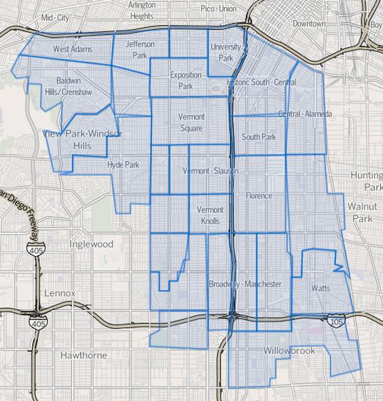 L.A. South Central – Da GTA San Andreas alla realtà – Le Storie di Ieri
