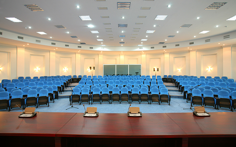lighting design in meeting spaces