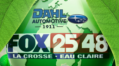 Dahl Automotive & Fox 25 48 Support Earth Day