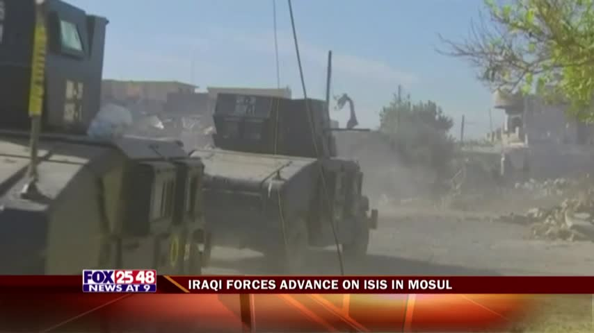 Iraqi Forces Advance On Isis In Mosul_27938990-159532