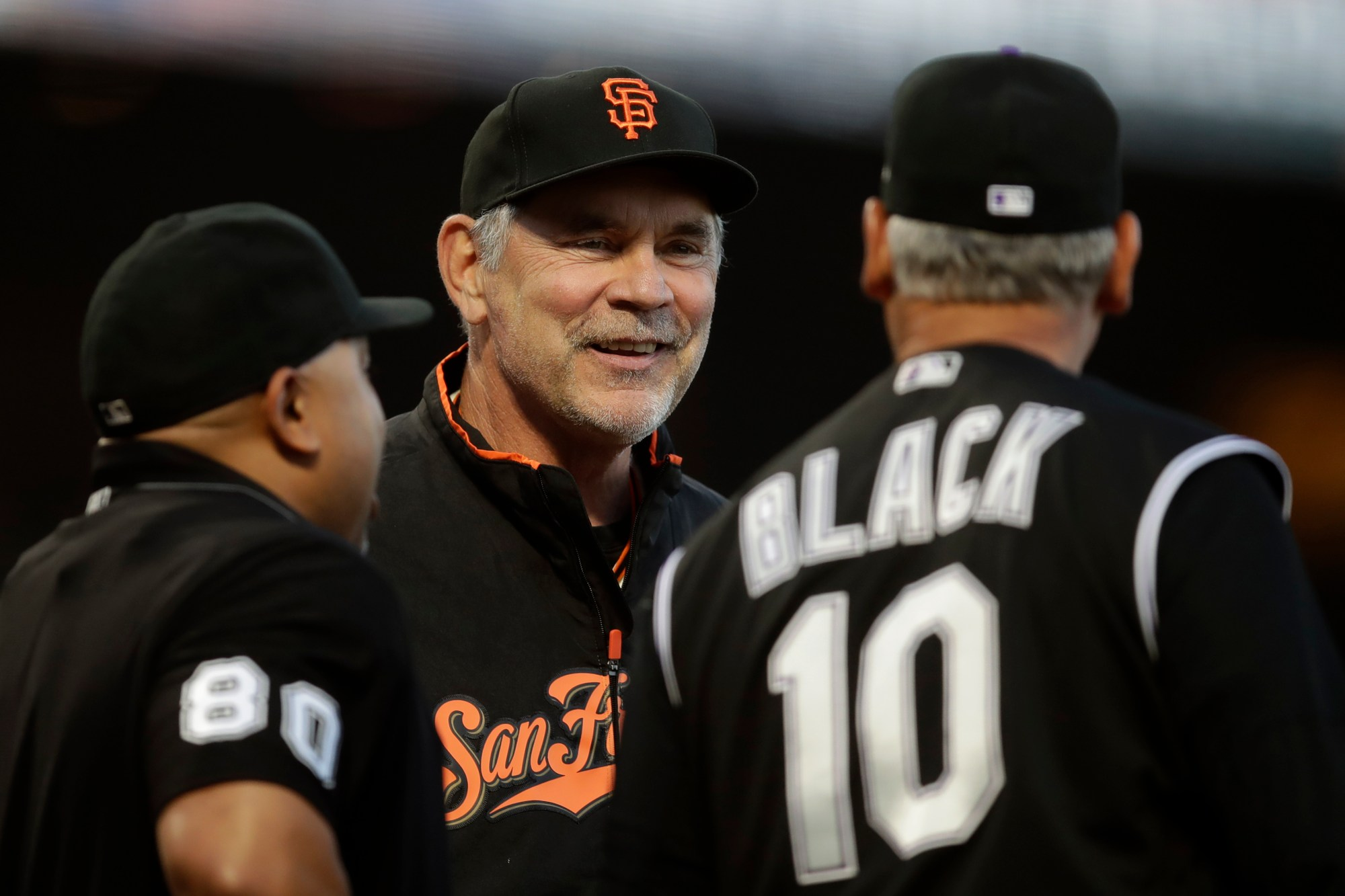 Bruce Bochy, Bud Black