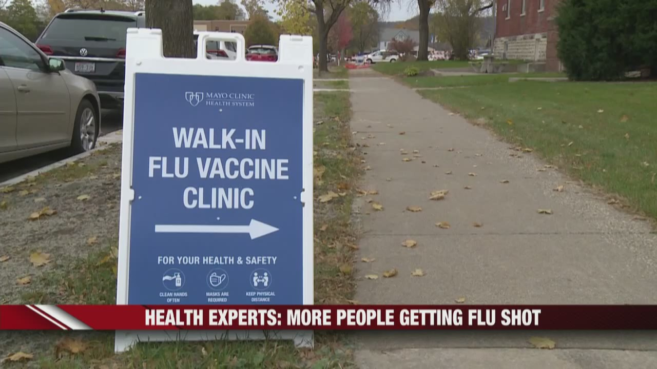 Gunderson and Mayo Clinic offering walk-in flu shots for everyone, no appointment necessary
