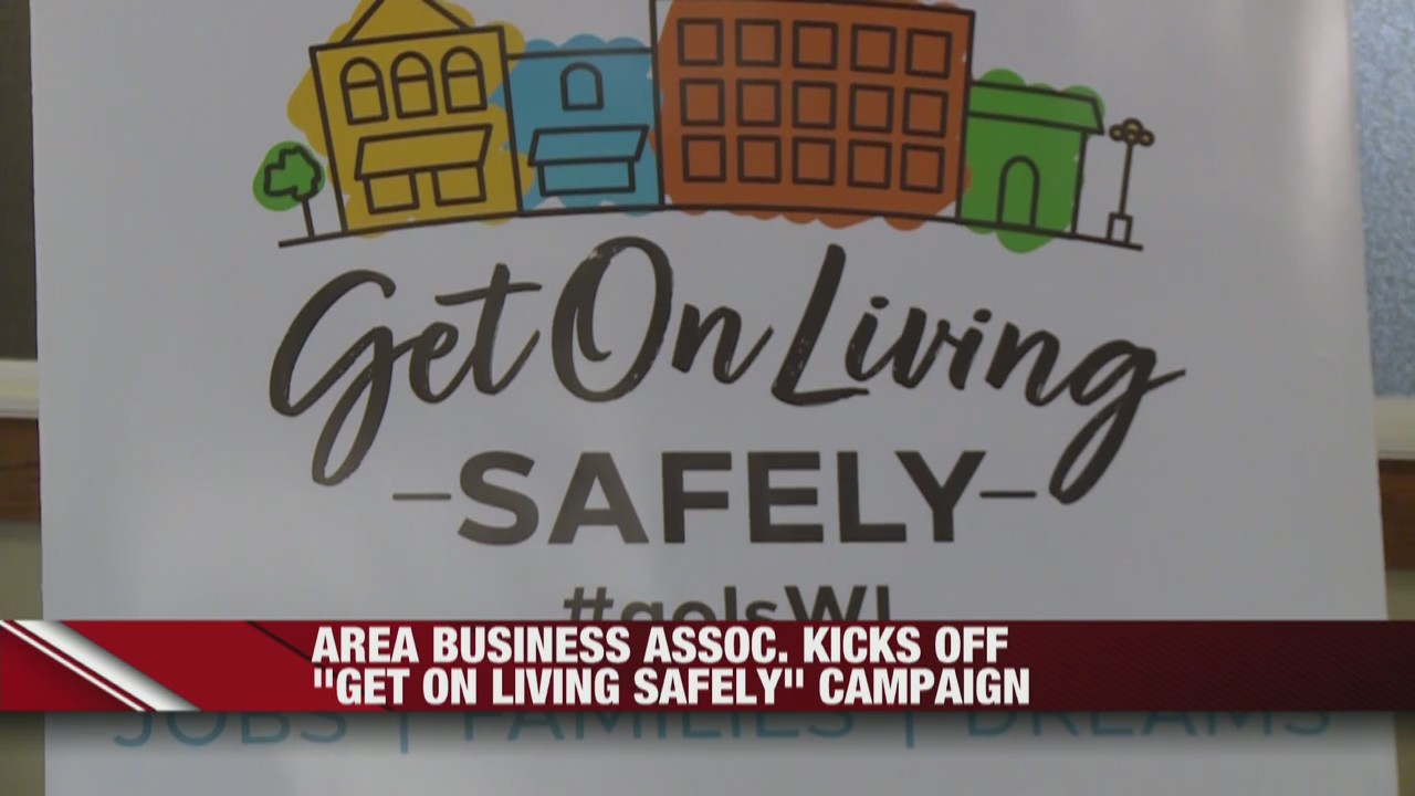 La Crosse Area Business Association kicks of Get on Living Safely campaign