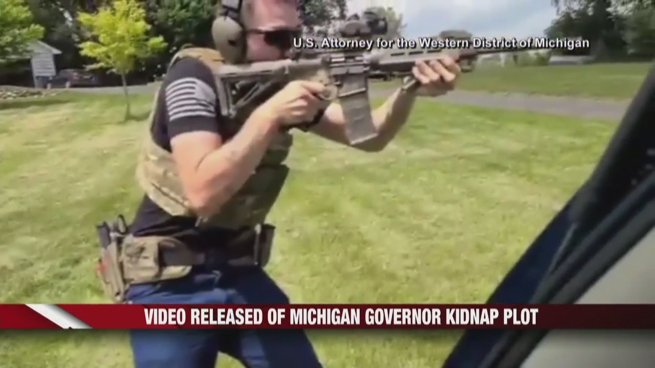Video released of Michigan Gov. kidnap plot