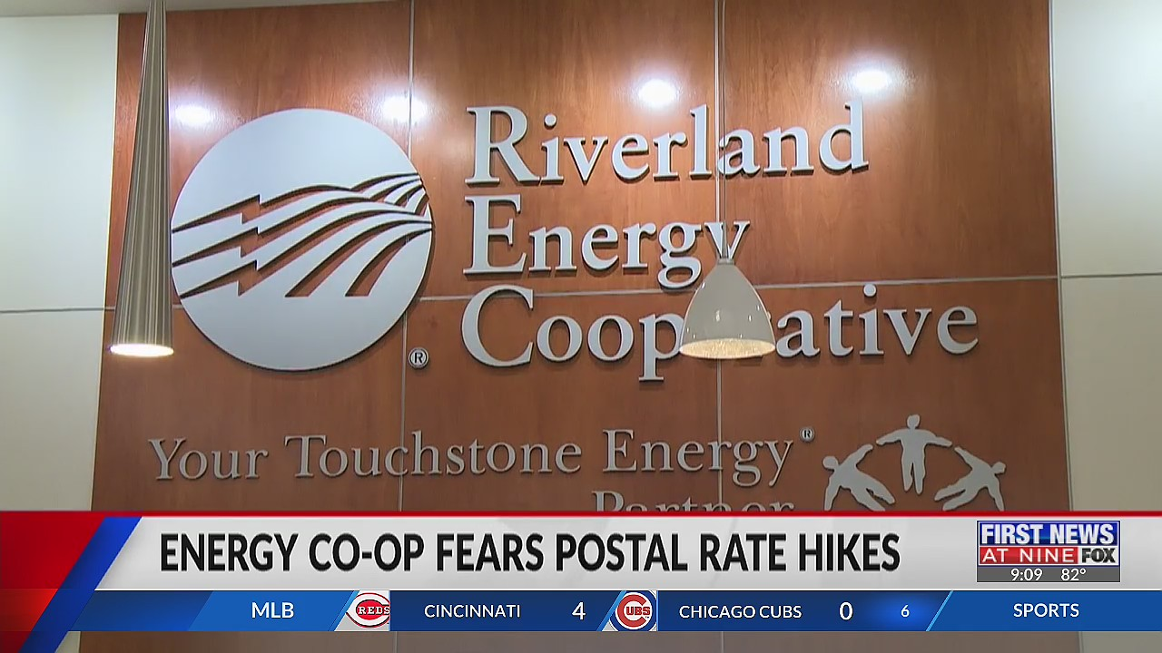 Riverland Energy Cooperative concerned over upcoming postal rate hike