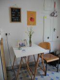 Unser kleines Cafe in der Villa
