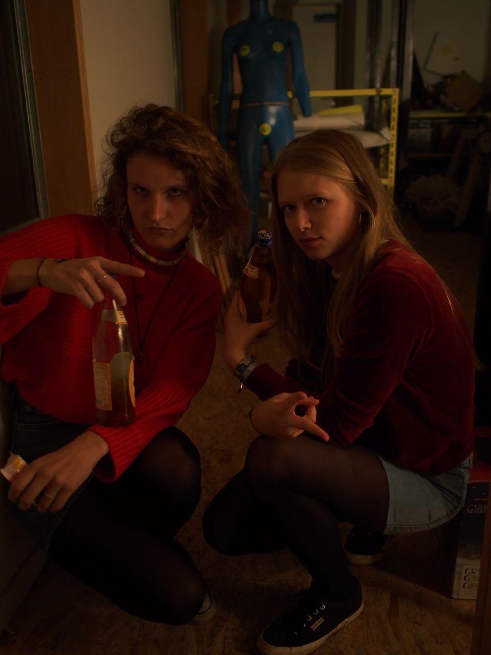 Alena und Sophie
