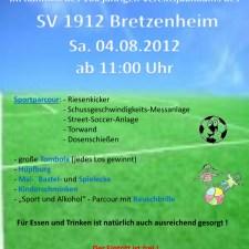 Sport-, Kinder- und Familientag SV BRETZENHEIM 1912 3