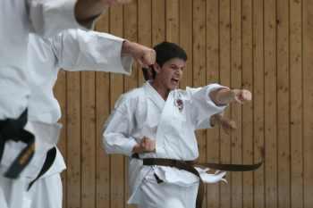 Karate-Lehrgang: Rhythmus, Kraft und Kampfgeist 1