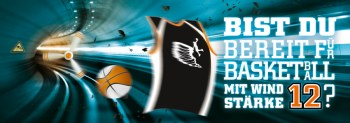 Basketball mit Windstärke 12