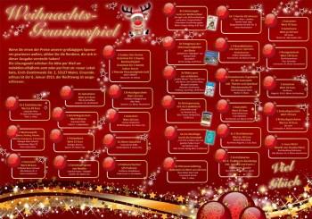 Weihnachtsgewinnspiel neuer Lokalbote 2012.