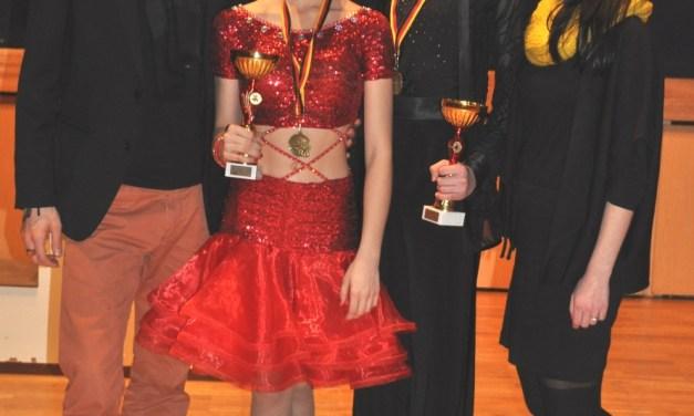 Zweimal Bronze für Ingelheimer Juniorentanzpaar