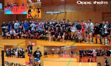 Muay Thai Elite Deutschlands zu Gast bei Sparringstreffen 2013  In Oppenheim.