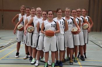 Die Oberliga-Damen der TSG Heidesheim