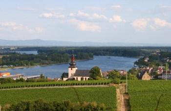Nierstein am Rhein.