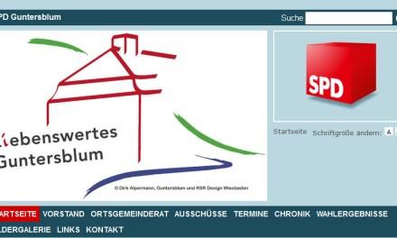 Mitgliederversammlung des SPD-Ortsvereins Guntersblum