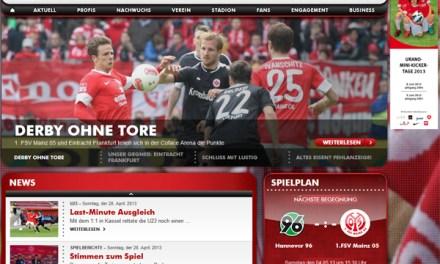 Konzept der Polizein beim Fußball-Derby Mainz 05 gegen Eintracht Frankfurt ging auf