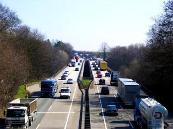 Unfall auf der Autobahn (Symbolbild)