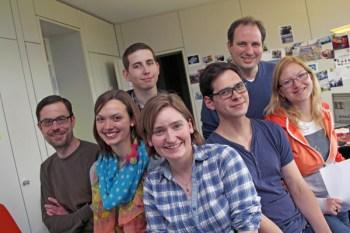 Das RheinLiebe-Team. (Foto: Harald Kaster)