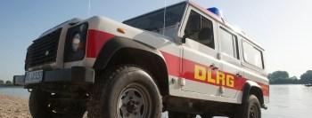 DLRG Zugfahrzeug