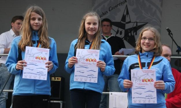 Weiterer Deutscher Altersklassenrekord gebrochen – Rettungssportler zeigen sich bei den Landesmeisterschaften in Andernach in sehr guter Form.