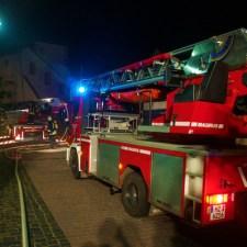 Vollbrand in der Oppenheimer Altstadt gegenüber dem Gautor 5