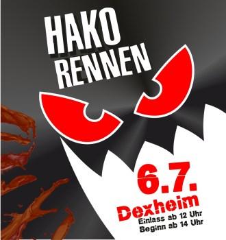Hakorennen 6. Juli in Dexheim