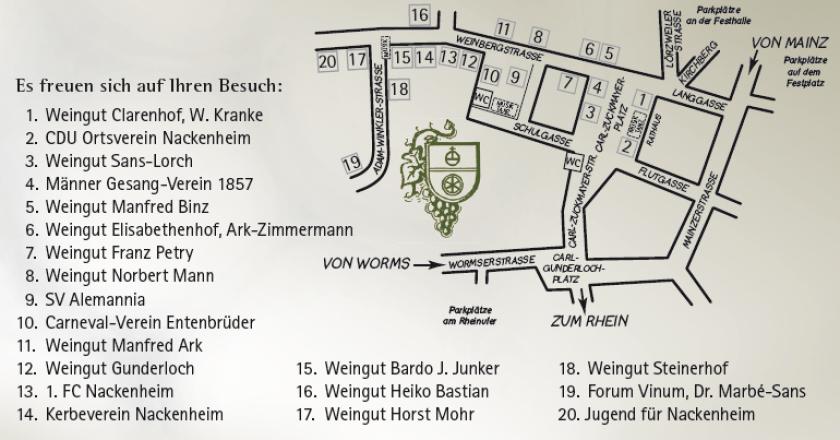 """Nummer eins der """"großen Vier"""" – Das Nackenheimer Weinfest"""