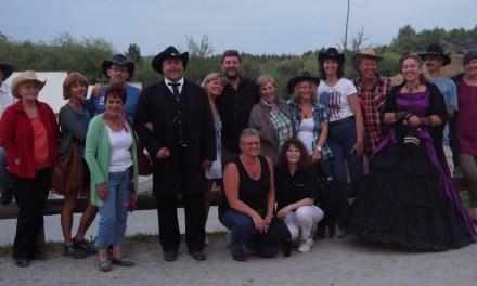 Die Country Frogs des TV 03 Selzen besuchten das Country Music Festival 2013