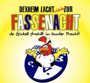 TUS Dexheim feiert Fastnacht. (Plakat der Kampagne 2014)
