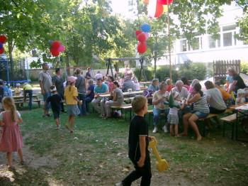Sommerfest im Spatzennest