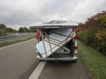 Ladungssicherung bei Ingelheim