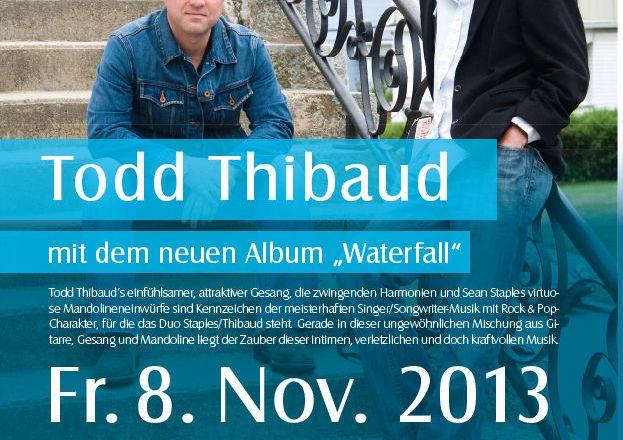 Todd Thibaud und Sean Staples im Museumskeller Guntersblum am 8. November