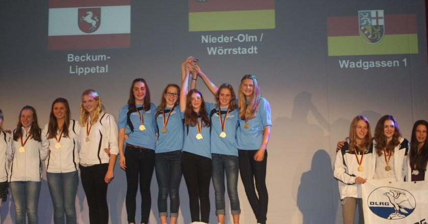 Deutsche Meister, drei Deutsche Rekorde, viertbestes Team Deutschlands