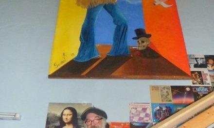 Christian Seidel zeigt seine Werke in Darmstadt und Jimi Hendrix ins XXL