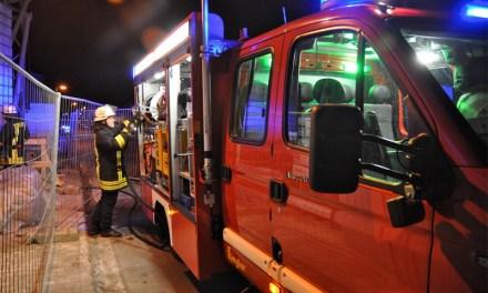 Brand in Gimbsheim – Evakuierung wegen Explosionsgefahr läuft derzeit