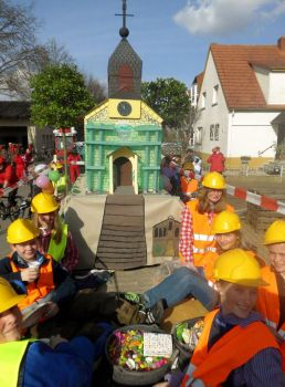 Bild: Die Messdiener Ludwigshöhe nach einer gelungenen 72-Stundenaktion im letzten Jahr.