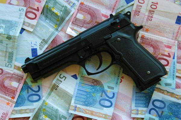 Bewaffneter Mann mit Sturmhaube überfällt Pizzeria in Mainz