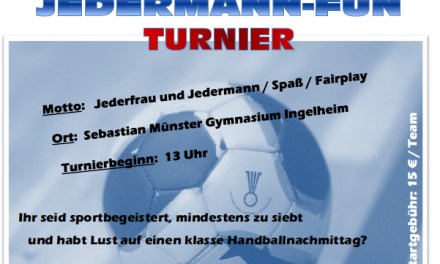 Handball-Fun für Jedermann in Ingelheim