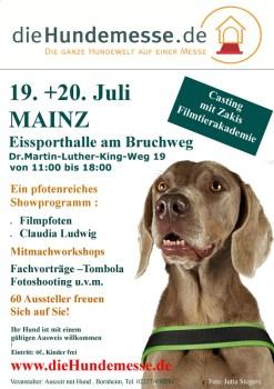 Die Hundemesse kommt nach Mainz.