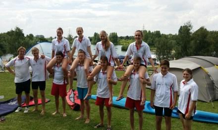 Sportler aus Nieder-Olm / Wörrstadt überzeugen im Landesverbands-Vergleich der Junioren-Rettungssportler